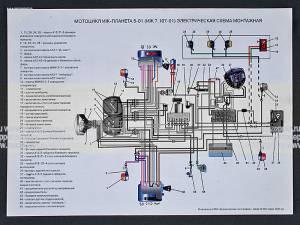 электросхема зажигания скутера